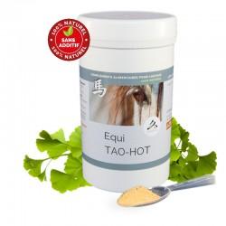 Equi TAO-HOT - utilisé en cas d'agressivité, tics, peurs, nervosité, coup de sang, céphalée - pour cheval